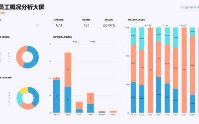 DataFocus小学堂|人力资源案例之新员工概况分析